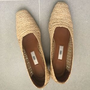 MIISTA - NOA RAFFIA natural wood heel - NEW